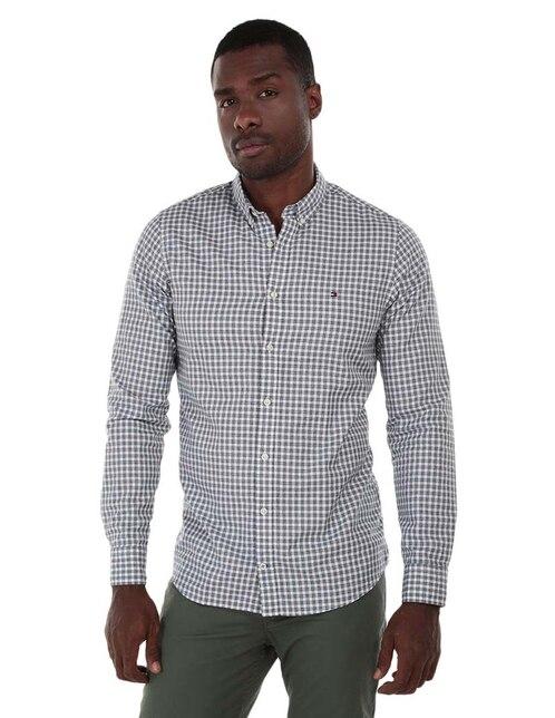 6b01cf6cd05d0 Camisa casual Tommy Hilfiger corte slim fit a cuadros