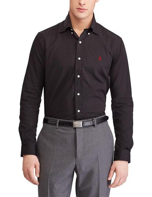 Camisa Lacoste Para Caballero De Vestir Corte Slim Original